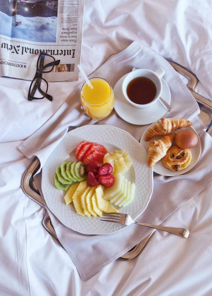 Never miss a chance to enjoy breakfast in bed