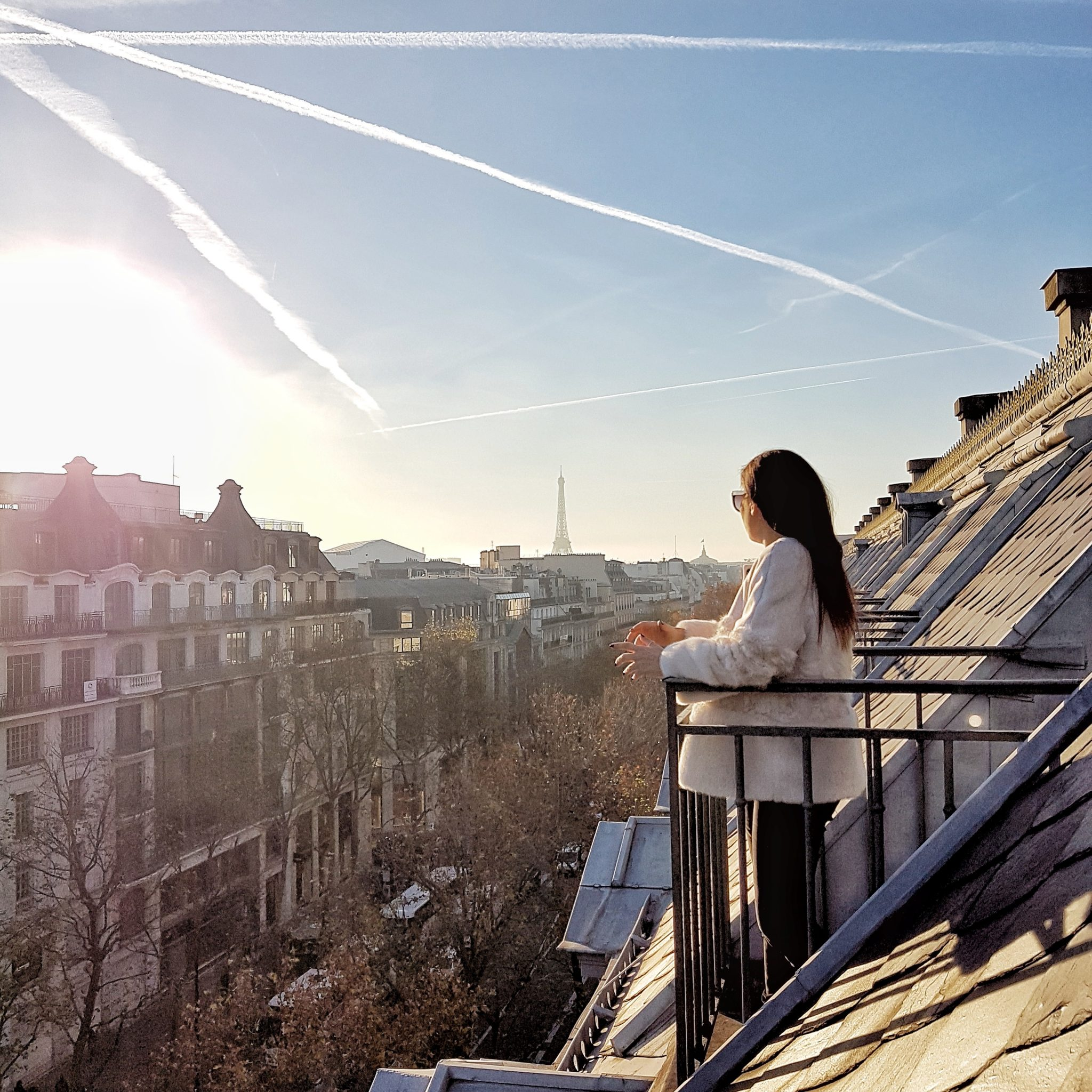 rooms with a view in Paris